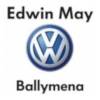 Edwin May - Radio Cracker Ballymena station sponsor's logo